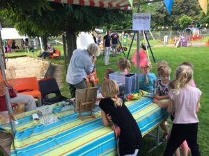 Eindfeest Dans & Creatief in speeltuin Het Noorden in Zwolle.